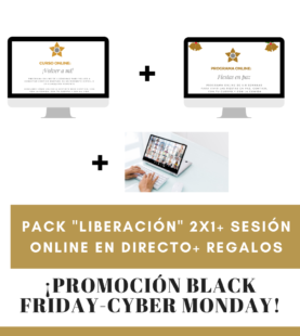 """Pack """"Liberación"""" 2×1 + Regalos"""