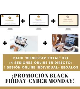 """Pack """"Bienestar total"""" 3×1 +Regalos"""